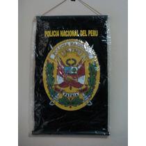 Banderin De La Policia Nacional Del Peru