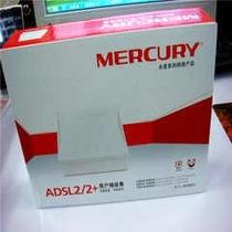 Modem Mercury Adsl2 Md88os Linea Cable Telefono Blanco Inter