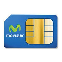 Chip Especial Para Modem Bam Plan 6gb Movistar
