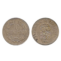 Moneda De 10 Céntimos 1971