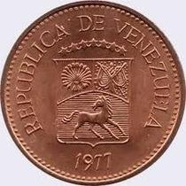 5 Centimos 1977 Puya Lote De Tres