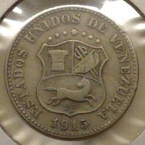 Moneda De 5 Centimos De 1915 - Puya