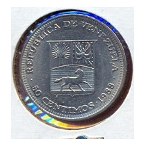 Moneda 50 Centimos 1988 (real)