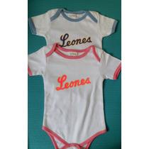 Body Para Bebé Leones Del Caracas
