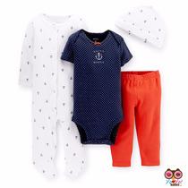 Set De 4 Piezas Carter´s Para Bebe!