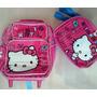 Hello Kitty Morral Maleta Peq Y Lonchera Escolar Import Or