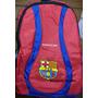 Aprovecha Morral Escolar Real Madrid Y/o Barcelona + Obsequi
