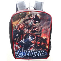Bello Morral Tipo Vengadores Advengers Bulto Escolar Regalo