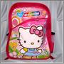 Bolso Morral Hello Kitty Ben 10 Niñas Niños Colegio 38x30x20