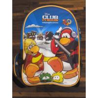 Bolso Escolar Club Penguin