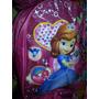 Bolso Morral Escolar Frozen Dra Juguetes Minnie Princesas