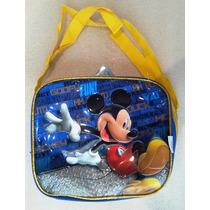 Mickey Mouse Disney Lonchera C-envases Avengers Escolar Orig