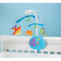 Oferta Movil Cuna Ocean Wonders De Fisher Price