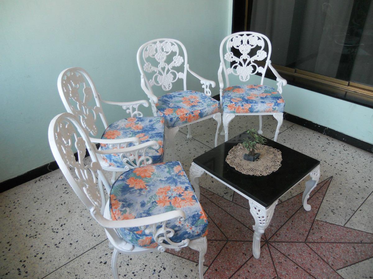 Muebles de jardin de hierro fundido recibos comedores - Comedores de jardin ...