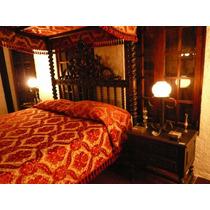 Mesas De Noche Dormitorio 100% Madera