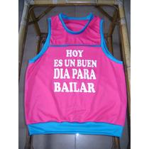 Camisas Deportivas Y De Baile Para Ensayo Estampadas.