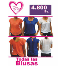 Blusas Chifon