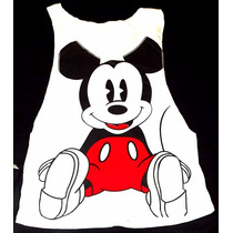 Blusas Blusones Franelillas Franelas Mickey Y Minnie Damas
