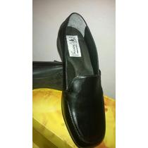 Comodos Zapatos Negros Escolares Dama Nro35