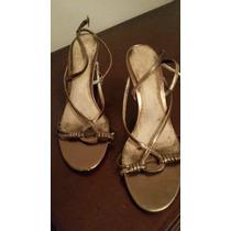 Zapatos Sandalias Dama Originales Usados, 6 1/2 Usa