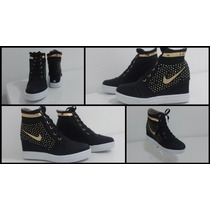 Botas Nike Colombianas De Damas Tacon Corrido