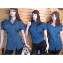 Camisas De Jeans Tallas Plus 6xl