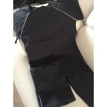 Mono Largo Y Camisa Conjunto Para El Gym De Gorditas Xl Plus