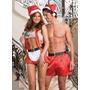 Santa Claus Super Sexy Marca Dreamgirl Talla U Dia Del Amor!