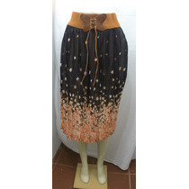 Faldas Floreadas Exclusivas Importadas A La Moda