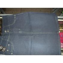 Falda Larga De Dama /jeans/cristiana Tallas Plus