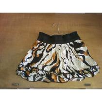 Hermosas Faldas Casuales Y Formales Rayon Algodón Chifón