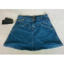Mini Falda Pull And Bear Denim 100% Original