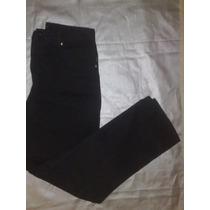 Jeans Color Negro Femenino Talla 11 L