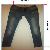 Blue Jeans Talla 29 9/10 Para Dama H&g Jeans