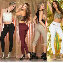 Pantalon Jeans Levanta Cola Colombiano Oferta
