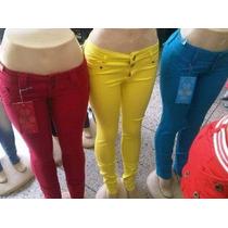 Pantalones Bacci De Colores. Para Damas
