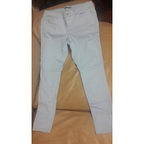 Pantalon Jeans Dama Talla 13 Color Azul Claro Strech Tubito