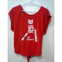 Blusa Camisa One Direction Artistas Online