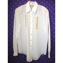 Blusas Blancas En Shifon Para Dama De Vestir