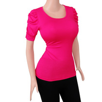 Blusa Dama Princesa Diseño A La Moda Para Gorditas Ref: 1305