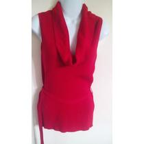 Blusa Roja Para Dama Talla Unica En Perfecto Estado