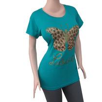 Blusa Dama Diseño Estampado. Moda Gorditas Ref: 2205