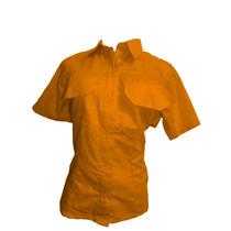 Camisas Tipo Columbia Uniforme Dama Manga Corta