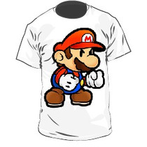 Franelas Mario Bros