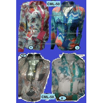 Camisa Manga Larga,para Damas,varios Modelos,tallas: S,m,l