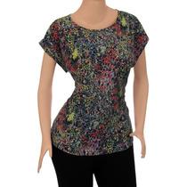Blusa Dama Talla Plus Gorditas Diseño A La Moda. Ref: 2804