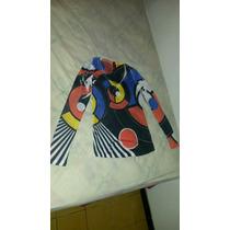 Camisa Mujer Fino Y Colorido Estampado