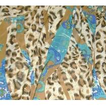 Nueva Blusa Animalprint Talla Unica -leopardo- Bella Tela