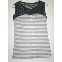 480bs Blusa Dama Usada Camisa Strech Franela Ropa