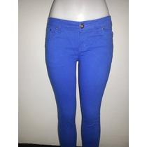 Pantalones Jeans Piel De Durazno De Colores Oxis 8 Colores